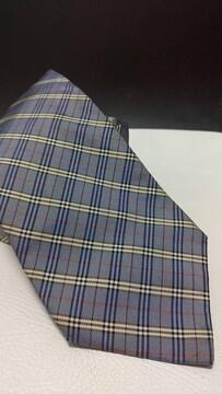即決 送料込み バーバリー 人気のバーバリーチェック柄 ネクタイ