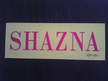 SHAZNA/シャズナ  ステッカー