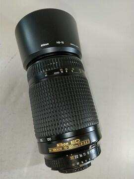 AF NIKKOR ED 70-300mm 1:4-5.6 D フード付き