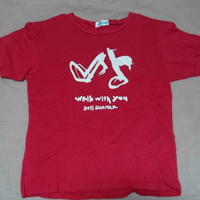 2011 summer walk with you桑田佳祐×docomoTシャツ  < タレントグッズの