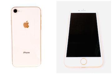 iPhone8simフリー64GBドコモ携帯スマホ白ロムゴールドgoldApple