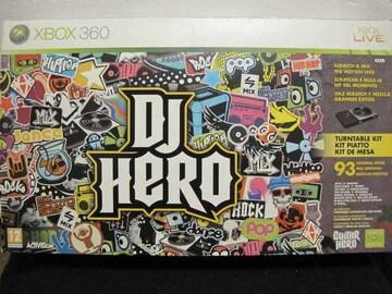 Xbox360☆DJ HERO  Bundle(ターンテーブル同梱版)☆新品同様