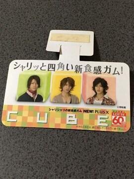 KAT-TUN 店頭用 ミニポップ プラスX CUBE カードサイズ K#5