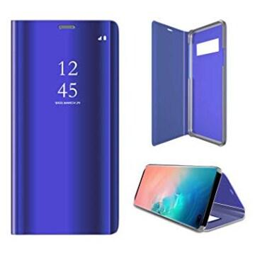 ケース Galaxy S10,手帳型 ミラー おしゃれ PUレザー 携帯ケース
