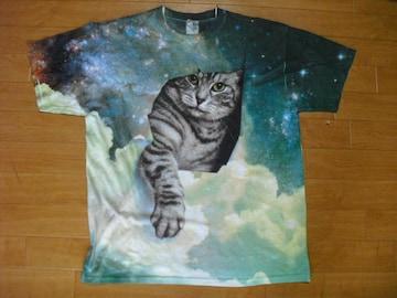JERZEES 猫ちゃん アニマル Tシャツ USA−L 新品未使用