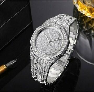 新品 ジュエリーウォッチ ラグジュアリー キラキラ 腕時計 CZ