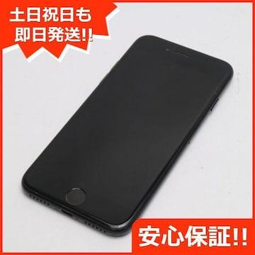 安心保証●良品中古●DoCoMo iPhone7 128GB ジェットブラック