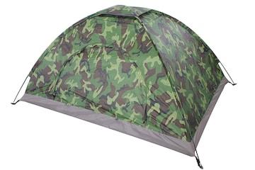 テント コンパクト 迷彩柄 キャンプテント 二人用  小型