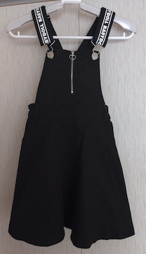 BABYDOLL☆ジャンパースカート☆size130☆黒