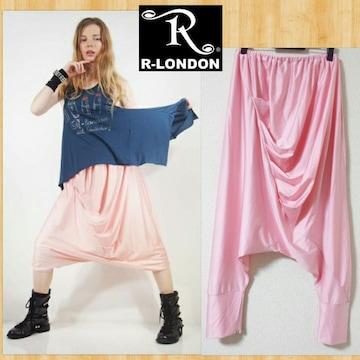 R-LONDON アールロンドン ローリードレープサルエルパンツ
