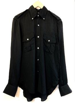 ARISTCRATICO■ミリタリーシャツ■アリストクラティコ■黒