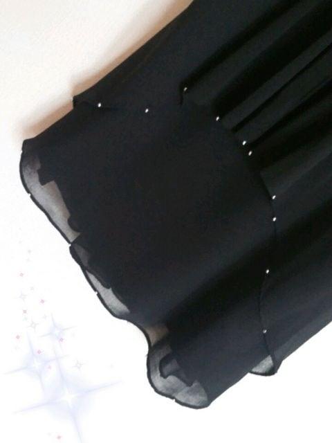 結婚式・パーティに*新品☆R・Fバラモチーフ裾ビーズ刺繍ワンピ < ブランドの