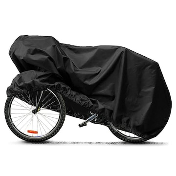 自転車カバー高品質素材 風飛び防止 撥水加工 収納袋付き