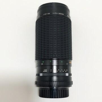 Z182 SIGMA ZOOM -λ�U 1:4.5-5.6 f=75〜300mm レンズ 超美品