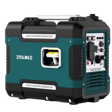 【新品】防音型インバーター発電機 59db 最大出力1.88KW USB出力
