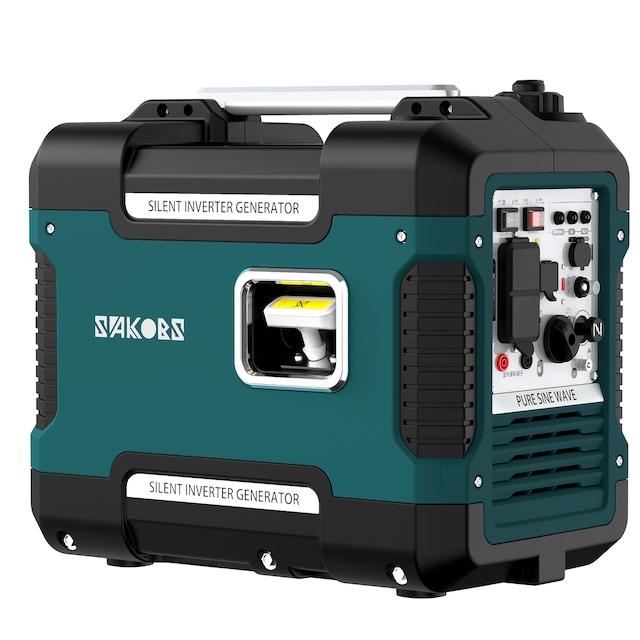 【新品】防音型インバーター発電機 59db 最大出力1.88KW USB出力  < レジャー/スポーツの