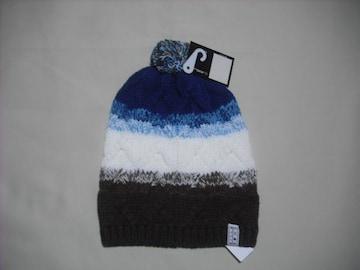 mb23 男 BILLABONG ビラボン ボンボン付き ニット帽