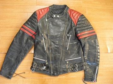 ヨーロッパ MOTO CUIR ヴィンテージ ライダースジャケット M