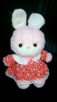 新品 吉徳 うさぎ クリーミー ぬいぐるみ ウサギ よしとく 人形