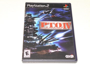 PS2★P.T.O.4 Pacific Theater of Operations 海外版