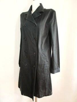【ドゥ ファミリィ】黒のロングコートです