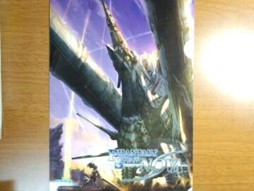 東京ゲームショウ2013&2014 ファンタシースター ノヴァ 非売品A4クリアファイル&冊子