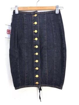 JUNIOR GAULTIER(ジュニアゴルチェ)レースアップデニムタイトスカートタイトスカート