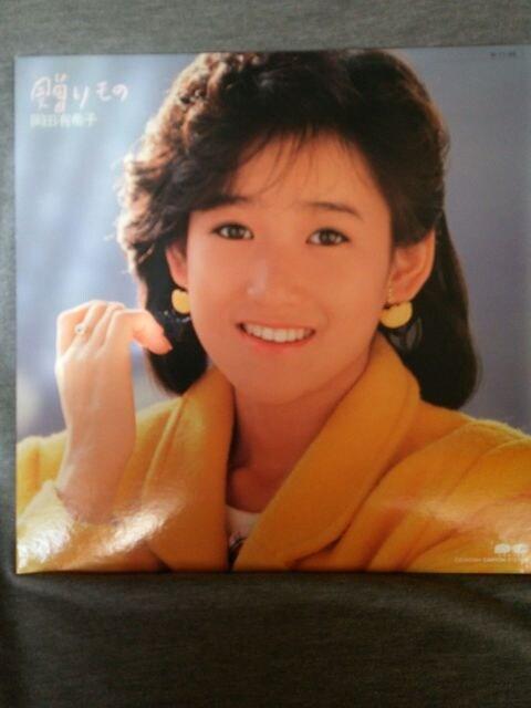 【中古】贈りもの*岡田有希子*LPレコード*美品  < タレントグッズの