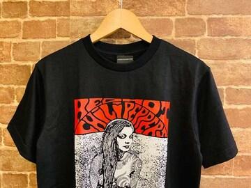 表記M/新品!レッドホットチリペッパーズ 女 セクシー ロック Tシャツ 黒 エロT レッチリ
