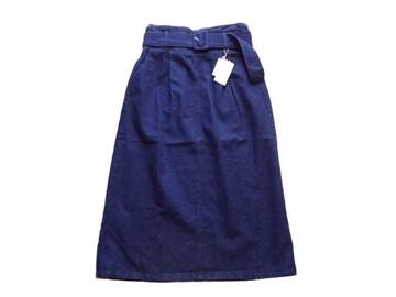 新品 レトロガール RETRO GIRL ベルト付き ロング  スカート