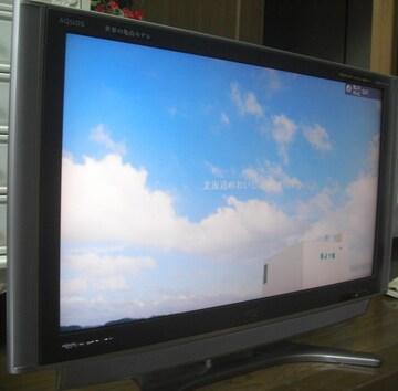 SHARP/LC-37GX5,37型Hi-Vision亀山モデル中古完動0913