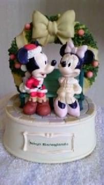 TDL東京ディズニーランドクリスマスファンタジーオルゴールミッキーマウスミニーマウス