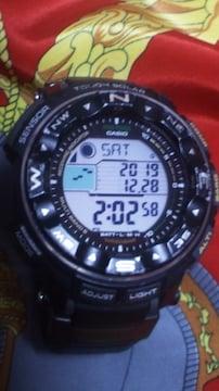 カシオプロトレックPRW-2500トリプルセンサータフソーラー電波腕時計定40000円