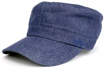 インダストリーズ 帽子 クラシックブルー