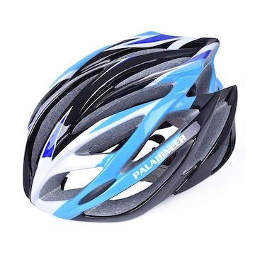 超軽量 サイクリングヘルメット ブルー