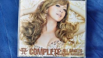 浜崎あゆみ COMPLETE ALL SINGLES 4枚組ベスト 3CD+1DVD