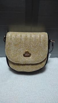 フラップショルダーバッグ 新品未使用