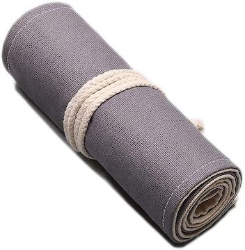 布製ロールケース・鉛筆48本収納可能・新品・即決!