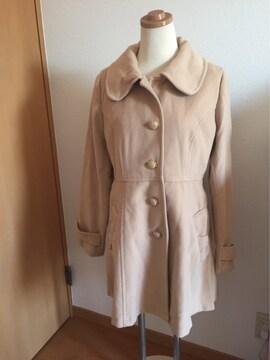 リボン型ポケット ロングコート