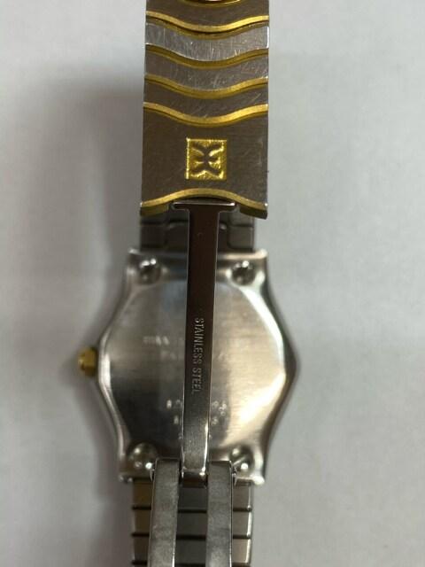 【希少レア18K】EVELレディース腕時計 稼働中クウォーツ < 女性アクセサリー/時計の