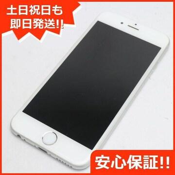 ●安心保証●超美品●DoCoMo iPhone6 64GB シルバー●白ロム