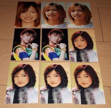 モーニング娘 後藤真希 ブロマイド 写真 9枚セット