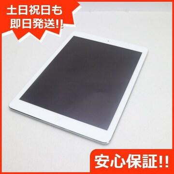 ●新品同様●iPad Air Wi-Fi 16GB シルバー●