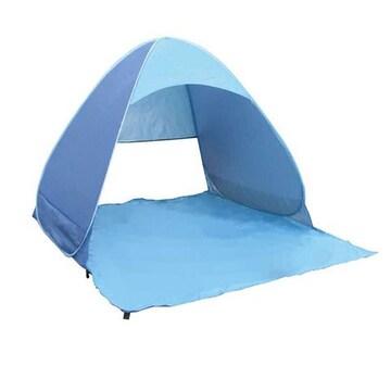 新品 サンシェードテント ブルー S-001B