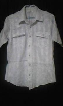 ペイズリー柄シャツ