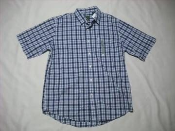 23 男 TIMBERLAND ティンバーランド 半袖チェックシャツ Mサイズ