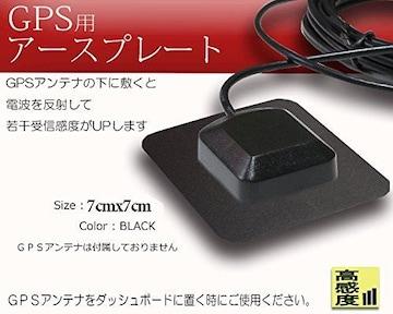 GPSアンテナプレート 用 アースプレート 磁石 受信感度向上