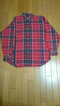 Ralph Lauren  ラルフローレン 長袖チェックシャツ