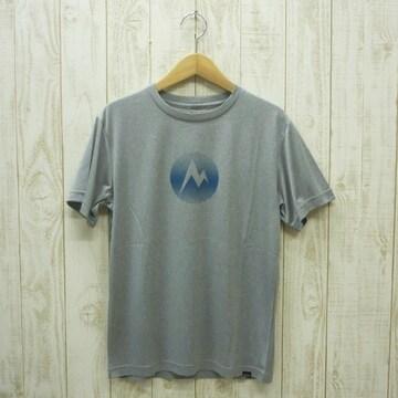 即決☆マーモット特価MARKロゴ半袖Tシャツ GRY/XLサイズ 新品