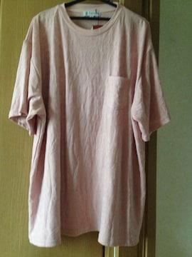 メンズ Big 大きいサイズ 4L 半袖 部屋着 Tシャツ カラー